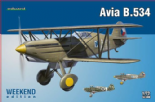 EDK7428 1/72 Avia B.534 IV Serie (weekend)
